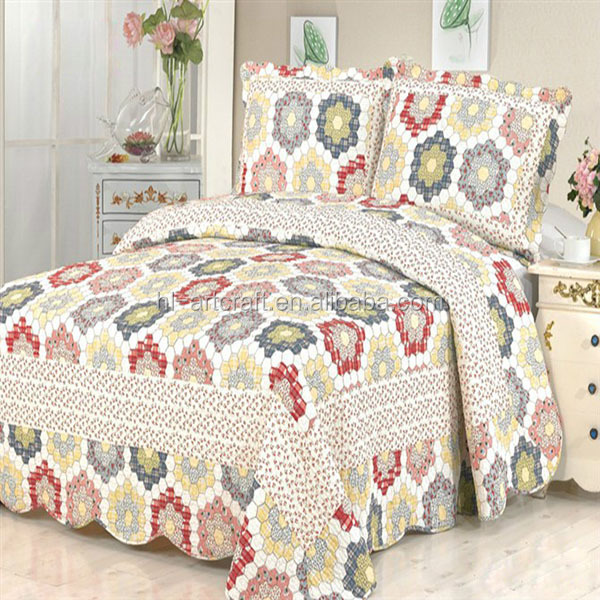 Luxury china supplier full size home textile emboridery bedding set
