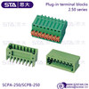 Double-row 2.5mm pin connector MCD 0,5/ 9-G1-2.5 - 1894875 phoenix