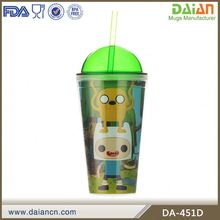 16 oz double wall popular ice cream cup plastic