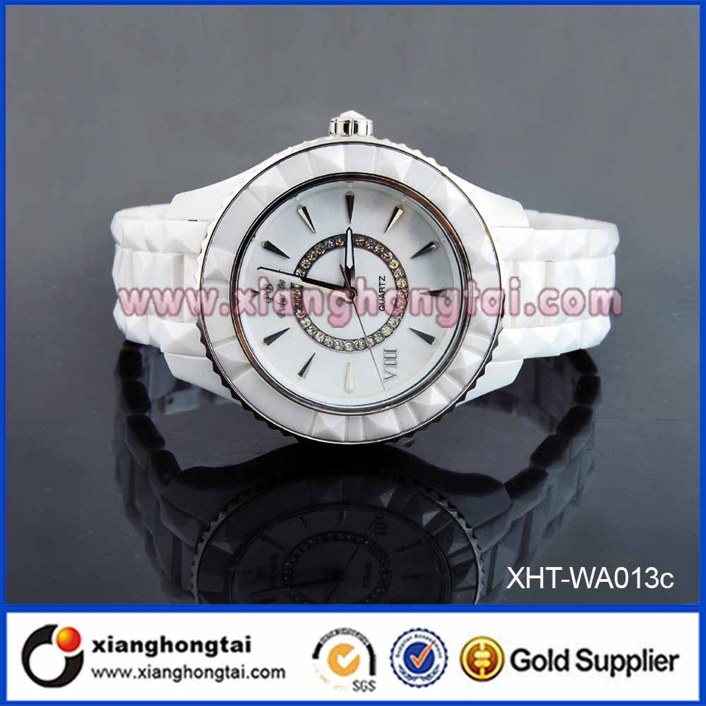 2016 Wholesale Trendy Healthy Element Women Watches With 3atm Water Resistant Ceramic watchcase