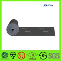 Condensing water pipe flexible rubber foam thermal insulation