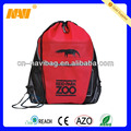 drawstring bag with pouch( NV-D259