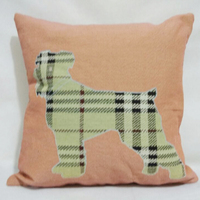 PLUS machine embroidery designs deer print cushion cover