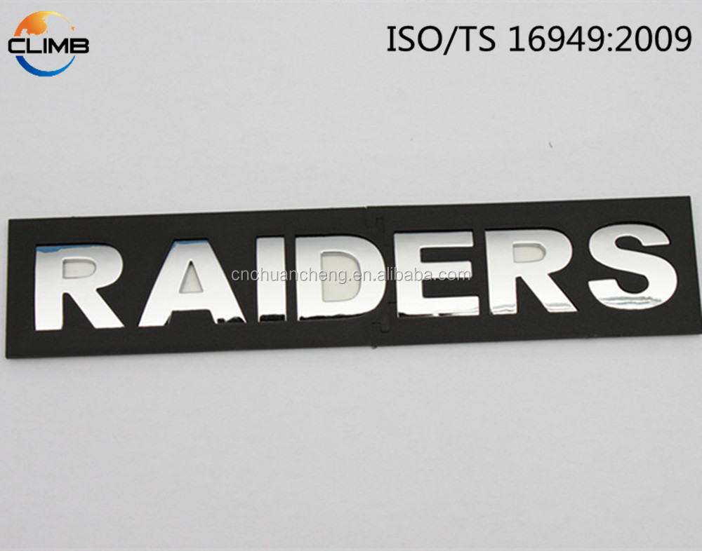 Cheap metal 3D ABS custom bright acrylic auto emblem chrome letter and number, Custom Made Silver Alphabets badge