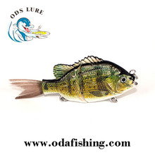 Male bluegill crappie Fishing Lures Crankbait Minnow Popper Crank Wobbler Lure For Bass Fishing Isca