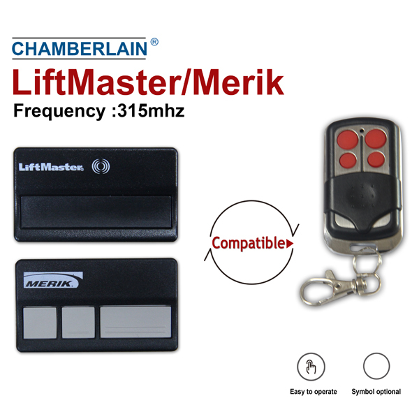 compatible with liftmaster/ merlin / chamberlain gate remote control JJ-RC-I11M