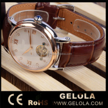 Mechanical Automatic men steel brand watches ,bell and rose quartz watches
