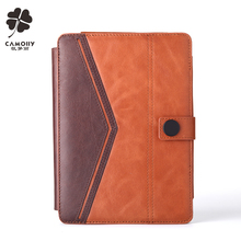 2017 new fashion design genuine leather tablet cover case for ipad mini 1/2/3 professional style design