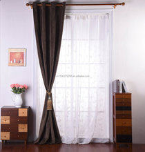 Luxury Heavy Hotel Customized Soundproof Blackout Drapes Curtains
