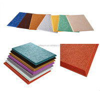 Best Price Customized Soundproof and Sound Absorption Polyester Staple Fibers For Wall Or Ceiling Decoration