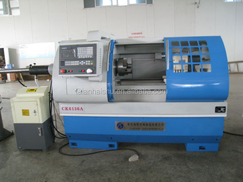 Best Quality CK6136 flat bed type shenyang cnc lathe machine