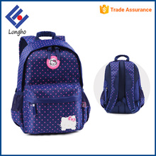 "China supplier 16"" cute children school backpack hello kitty school bags for kids"