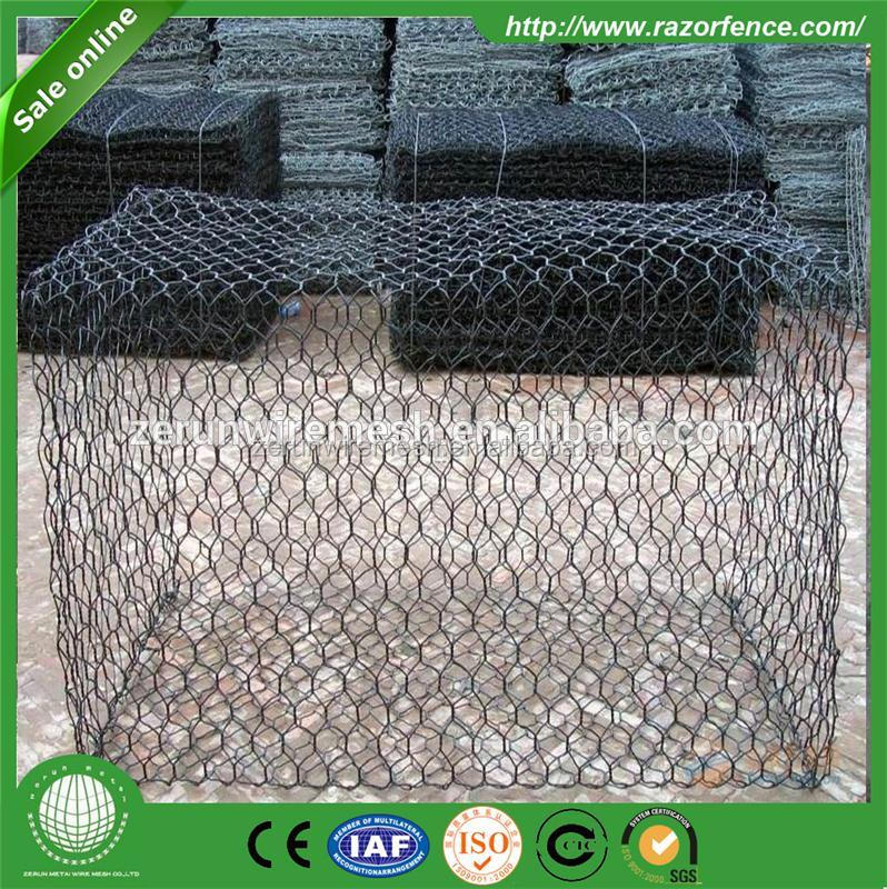 China PVC coated Fish Pot Welded Wire Mesh Ocean Uses