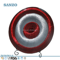 Sanzo Custom Glassware Manufacturer Wholesale Hollow Out Glass Plate