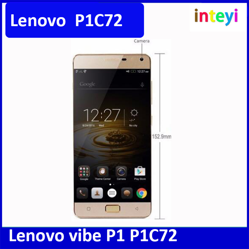 Original Lenovo vibe P1 P1C72 Android 6.0 European system P1a42_S288_160721_ROW 13.0 MP Camera 3G RAM Cell phone
