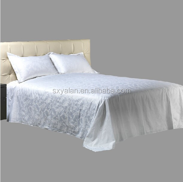 plain white cheap bed sheet sets/flat sheet sets