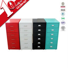 Factory price knock down hair salon storage cabinet