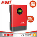 MUST Wholesale 3KVA 24V 220V DC/AC Home UPS Inverter/ Inversor without Transformer