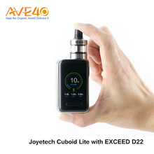 2017 Most popular E Cigarette Kit Joyetech Cuboid Lite with EXCEED D22