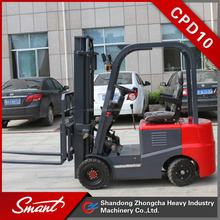 CPD10 battery electrical forklift price used for food/washing industry for hot sale