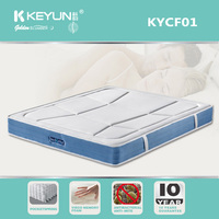 3D Breathable Anti-stress Fabric Pillow Top Pocket Spring Mattress For Bedroom Furniture
