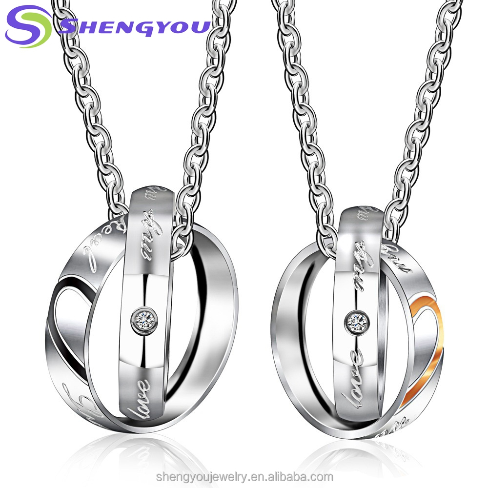 mothers day ring design heart shape silver pendant necklace