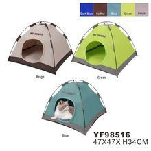 Light Weight Foldable Proable Waterproof Indoor Outdoor Oxford Dog Tent