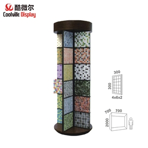 Rotating Mosaic Tile Display Racks Wall Mosaic Display Stands