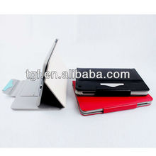 Folio PU leather case with PU lining + 3 card slot for ipad mini