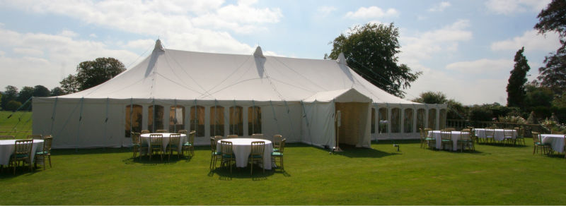 Cream Marquee Tent by Shade Systems EA Ltd