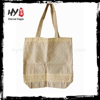 Brand new heritage supply cotton black ladies shopping tote bag