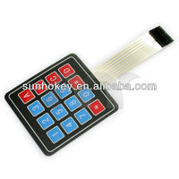 4x4 Matrix 16 Key Membrane Switch Keypad 4x4 Matrix Keyboard