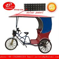 China wholesale cheap adult three wheeler passenger delivery electric tricycle for tourists
