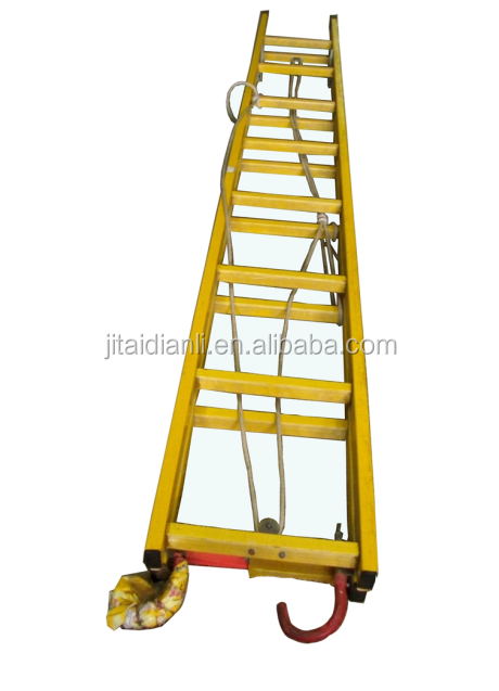 insulated electric glass fibre ladder
