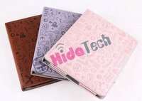2011 Hot ,for ipad 2 case,horizontal leather Case for apple ipad 2,for Tablet pc leather case with stand