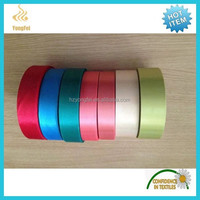 New 100 polyester satin decorative ribbon for packaging