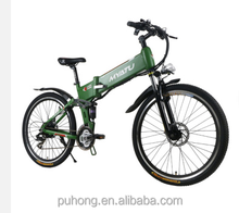 Electric 48 v / 26 inch 24S speed mountain bike hunmer folding moped car X6 power lithium electric folding electric bike