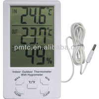 Indoor/outdoor thermometer with hygrometer PMTC -298