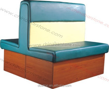 High quality restaurant long sofa and dining Chairs