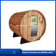 20 years manufacturer traditional cedar outdoor wood dry steam sauna room