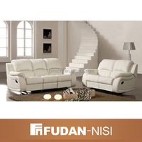 Moroccan new trend genuine leather sectional sofa for sale
