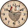 Cheap Wood Round Wall Clock Promotional