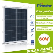 12v poly 80w prices for solar panels Poly Crystal Solar Panels