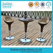 Great Durable Bar Stool For Outdoor Wicker Patio Set