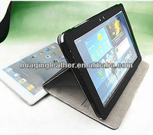 for SamSung galaxy table pc 5100 case with leather