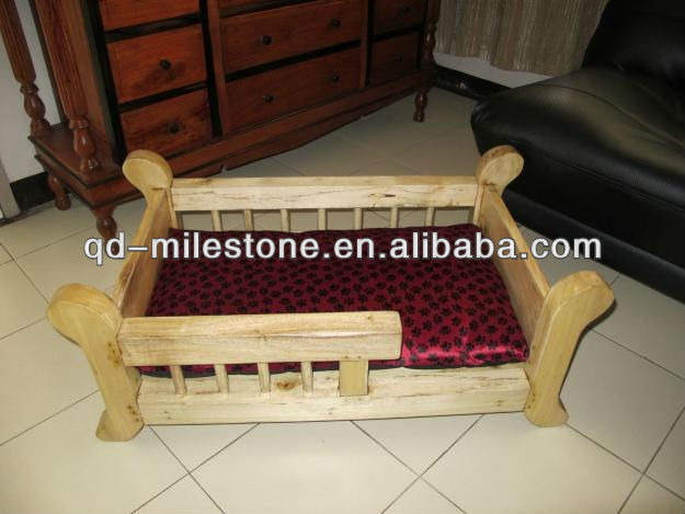wood pet house wooden dog bed