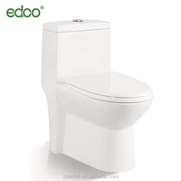 Siphonic wc toilet bowL with s-trap daul flushing hot-sale one piece water closet