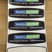 Four colour process Waterproof PVC Labels & Decals
