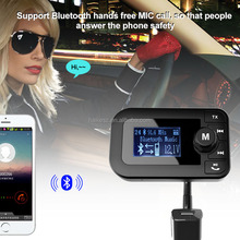 Auto USB Charger FM Radio Receiver Mobile Phone Lighter Bluetooth Transmitter
