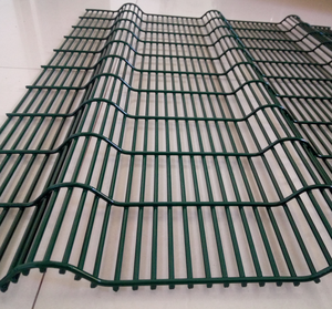 Anping factory vandal resistant 358 high security fence, PVC coated security fence panels